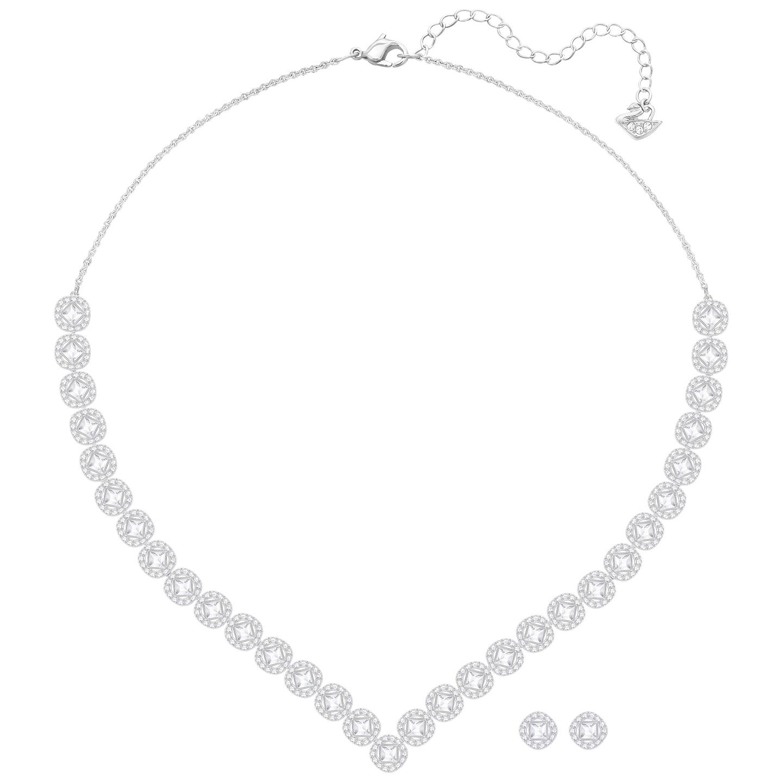Zestaw SWAROVSKI • Angelic Square Set, Large, White 5364318