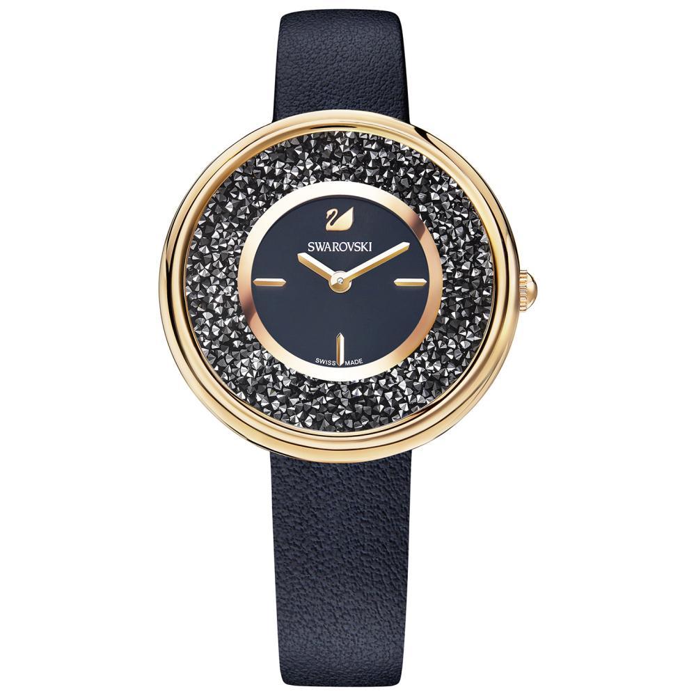 1d1c33d6 Zegarek Swarovski • Crystalline Pure Watch, Black 5275043 • RATY 0%