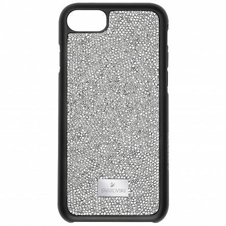 Etui SWAROVSKI • Glam Rock Smartphone Case with Bumper, iPhone® 7, Gray 5300257