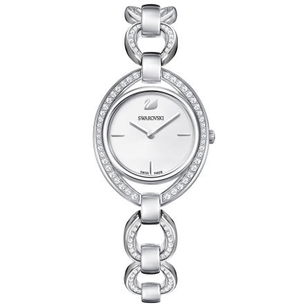 Zegarek Swarovski • Stella Watch, Metal bracelet, White, Silver tone 5376815