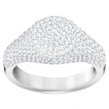 Pierścionek Swarovski • Stone Signet Ring, White, Rhodium plating 5409179 5409181